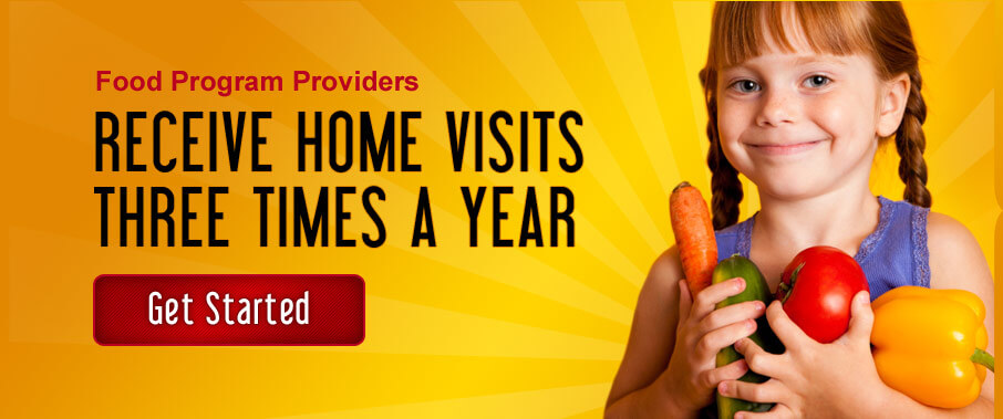 Food Program Provieds Home Visits Three Times a Year