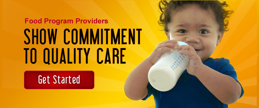 Show Commitment to Quality Child Care